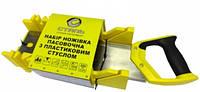 Ножовка пасовочная Сталь 350 мм с пластиковым стуслом 40600
