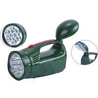 Фонарик светодиодный аккумуляторный ручной (22 светодиода) Yajia YJ 2809