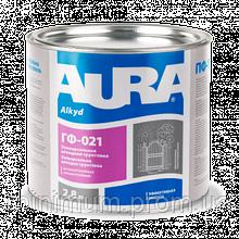 Aura ГФ-021 антикоррозийная грунтовка серая (2,8 кг)