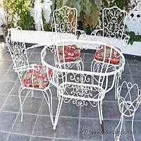 Кованые стулья и столы для ресторана и кафе 36