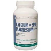 Витамины и минералы Витамины и минералы Universal Ca Mg Zn (100 tabs)