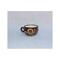 """Глиняная посуда """"Чашка для кофе малая Хуторок"""""""