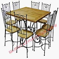 Кованые стулья и столы для ресторана и кафе 37