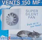 Вентилятор настенный вытяжной до 255 м³/час Вентс 150 МФ, фото 2