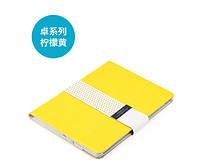 Кожаный чехол (книжка) ROCK Excel Series для Apple IPAD AIR Желтый, фото 1