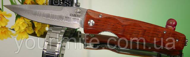 Нож складной Mcusta MC-0122D Damascus Tactility Cocobolo Handles