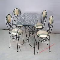 Кованые стулья и столы для ресторана и кафе 41
