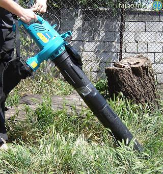Воздуходувка-пылесос садовый Sadko SBE-1600 ( 1,6 кВт)