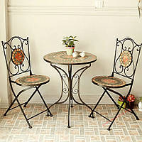 Кованые стулья и столы для ресторана и кафе 43