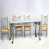 Кованые стулья и столы для ресторана и кафе 44