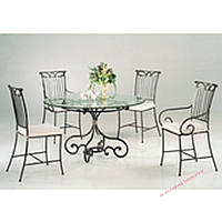 Кованые стулья и столы для ресторана и кафе 46