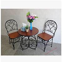 Кованые стулья и столы для ресторана и кафе 47