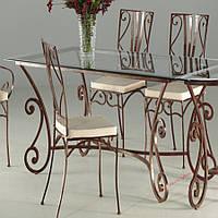 Кованые стулья и столы для ресторана и кафе 48