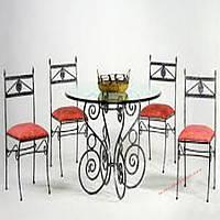 Кованые стулья и столы для ресторана и кафе 52