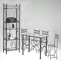 Кованые стулья и столы для ресторана и кафе 54