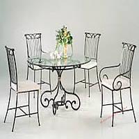 Кованые стулья и столы для ресторана и кафе 57