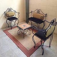 Кованые стулья и столы для ресторана и кафе 62