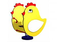 """Качели на пружине """"Цыпленок"""""""