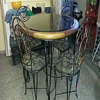 Кованые стулья и столы для ресторана и кафе 63
