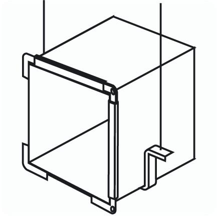 Монтаж воздуховодов: кронштейн Z образный