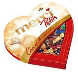 Шоколадные конфеты ассорти Merci Petits Heart в форме сердца, 250 гр, фото 3