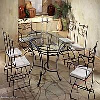 Кованые стулья и столы для ресторана и кафе 64