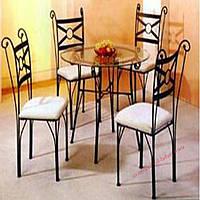Кованые стулья и столы для ресторана и кафе 65