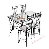Кованые стулья и столы для ресторана и кафе 66