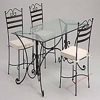 Кованые стулья и столы для ресторана и кафе 67
