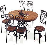 Кованые стулья и столы для ресторана и кафе 68