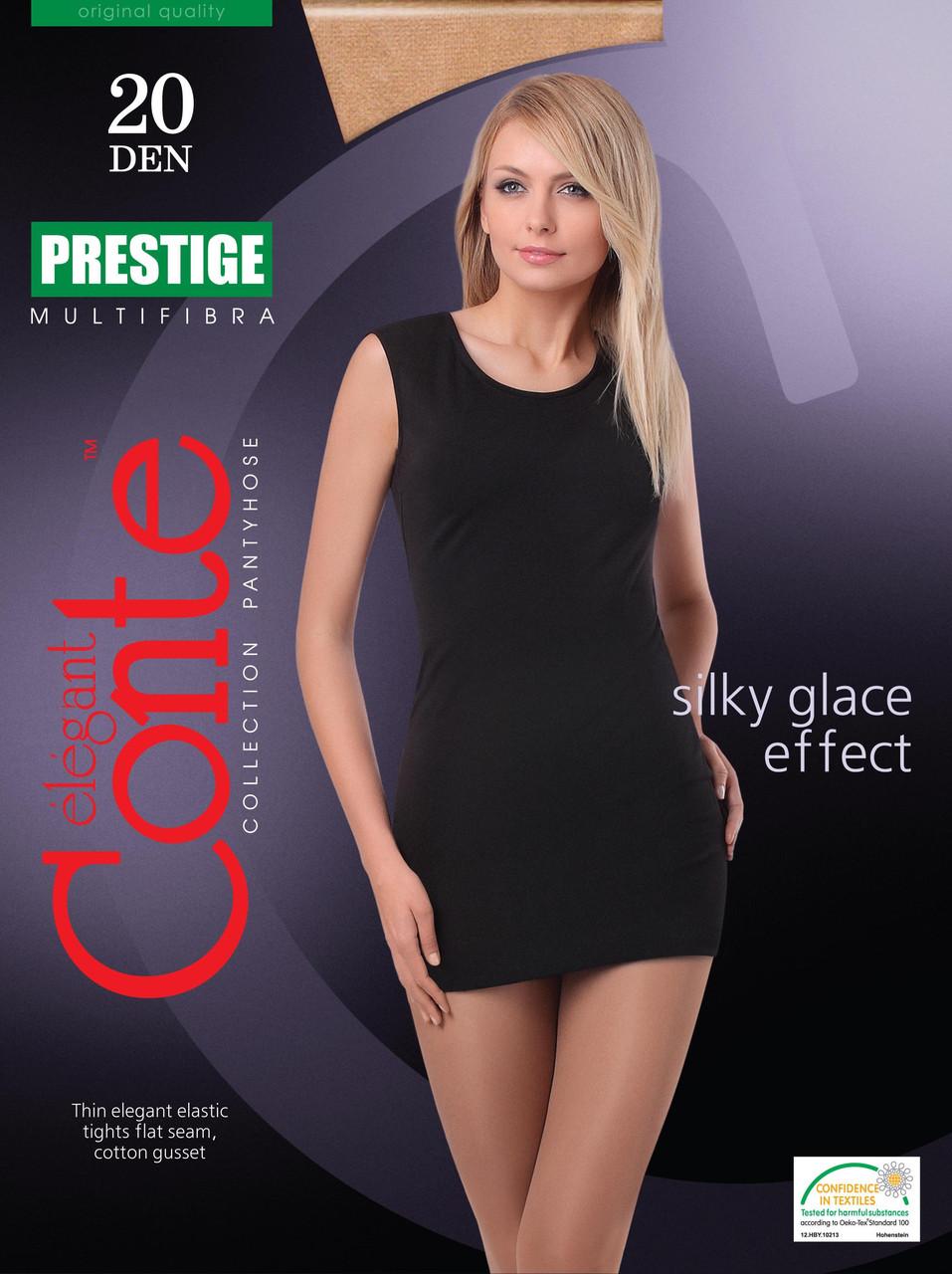 Колготки жіночі Conte Prestige 20 (Конте Престиж 20 ден), розмір 2-4, Білорусія