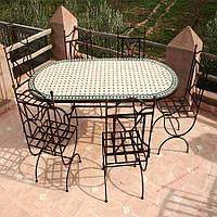 Кованые стулья и столы для ресторана и кафе 69