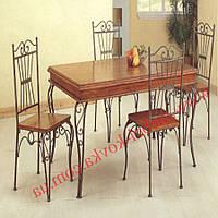 Кованые стулья и столы для ресторана и кафе 70