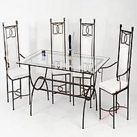 Кованые стулья и столы для ресторана и кафе 71