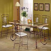 Кованые стулья и столы для ресторана и кафе 72