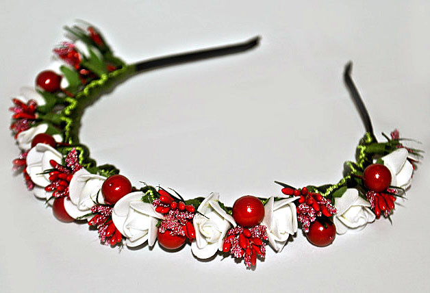 Ободок Розы и Калина