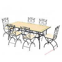 Кованые стулья и столы для ресторана и кафе 74