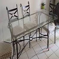 Кованые стулья и столы для ресторана и кафе 73