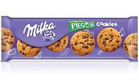 Печенье с шоколадом Milka Pieguski Cookies (милка), 135 гр
