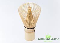 Венчик для взбивания матчи, бамбук