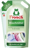 Жидкий порошок Фрош для стирки всех видов тканей Frosch Flussig Waschmittel 1800 мл