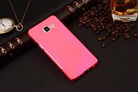 Силіконовий чехол Duotone для Samsung Galaxy A7 A710f 2016 рожевий, фото 1