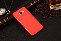 Силіконовий чехол Duotone для Samsung Galaxy A7 A710f 2016 червоний, фото 1