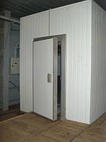 Камеры холодильные 12 м.куб. +2...+8, ППУ60, с холодильной установкой АСС
