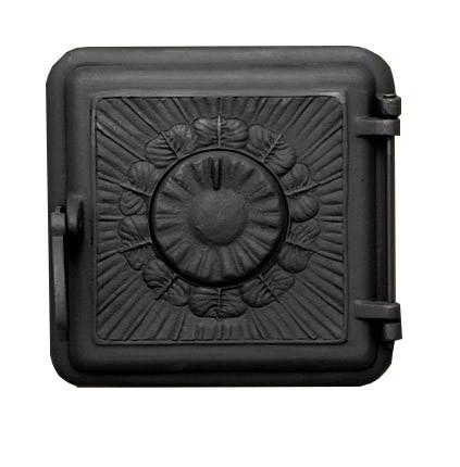Чугунная печная дверца - Dunántúl 25 х 25 см/ 22х22см