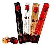 Шоколадные конфеты в коробке Vobro Cherry Roses вишня в ликере, 90 гр, фото 1