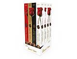 Шоколадные конфеты в коробке Vobro Cherry Roses вишня в ликере, 90 гр, фото 2