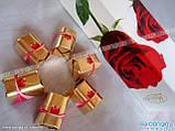 Шоколадные конфеты в коробке Vobro Cherry Roses вишня в ликере, 90 гр, фото 3