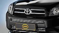 Решетка в бампер Toyota rav4  2006-2010