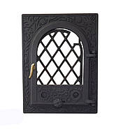Каминная дверца чугунная - VVK 35 х 46 см/27х38см